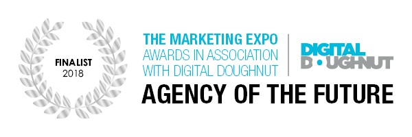 UKs B2B Marketing Expo 2018 - Agency Of The Future Finalist, Awards with association with Digital Doughnut