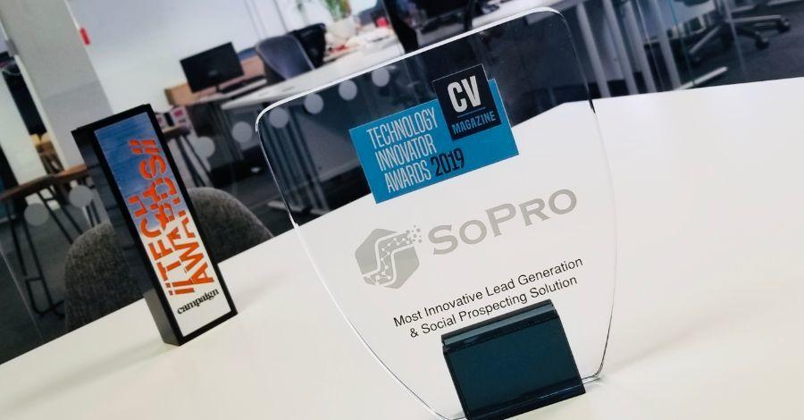 SoPro wins Corporate Vision Magazine's Technology Innovation Award