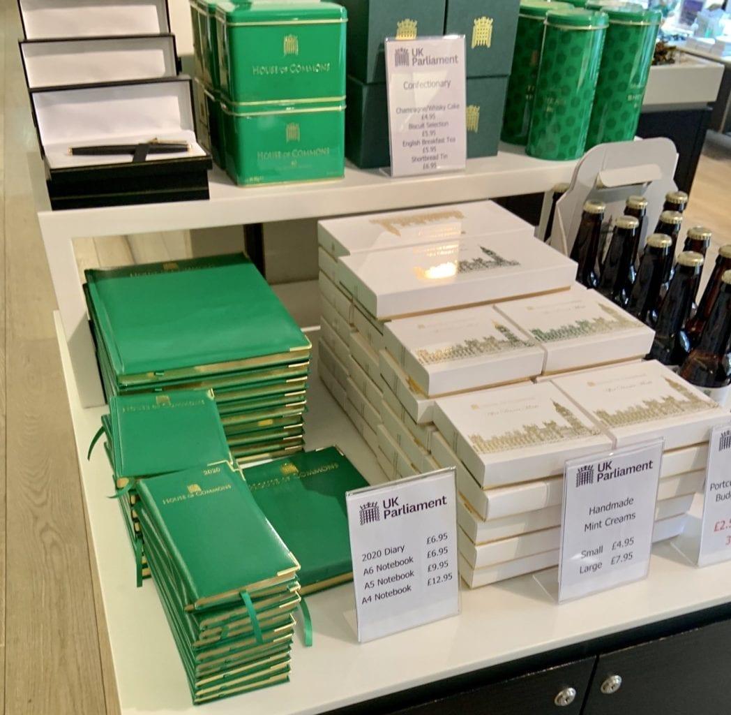 Handmade Mint Creams At UK Parliament