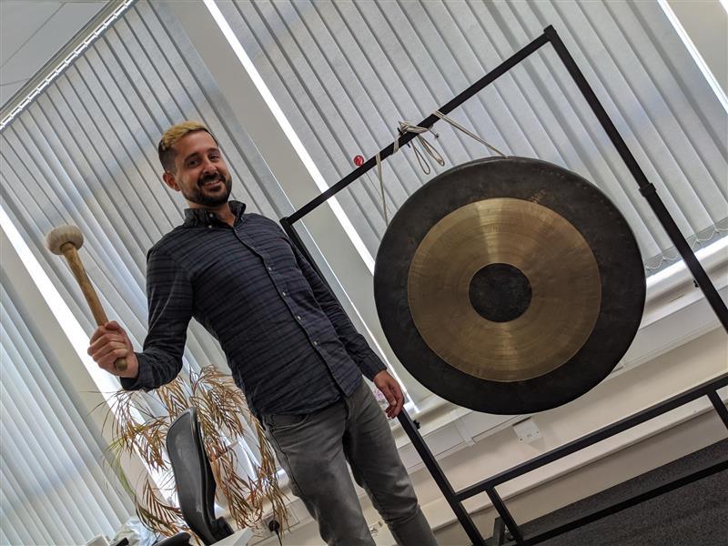 Steve rings the sales gong