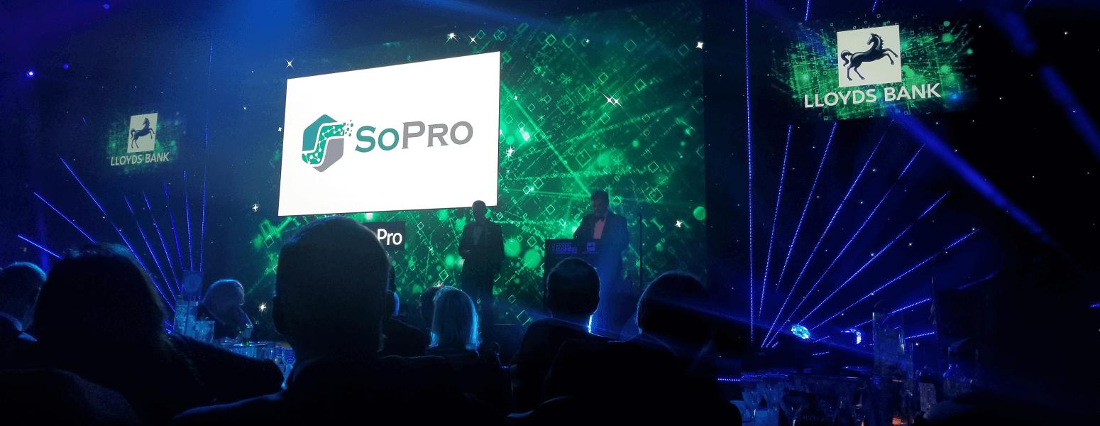 SoPro at Lloyds Bank awards